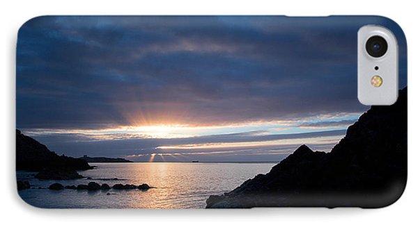 Sunrise At Whiterock IPhone Case