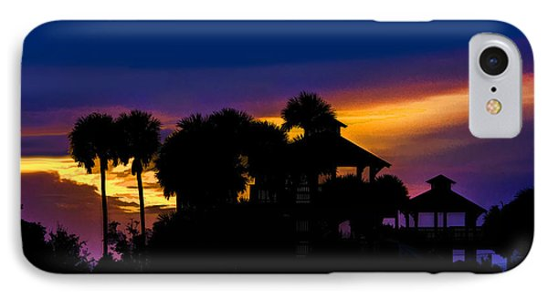 Sunrise Barefoot Mailman Park IPhone Case by Don Durfee
