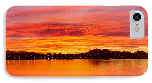 Sunrise Bay IPhone Case by Alice Cahill