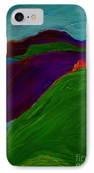 IPhone Case featuring the painting Sunrise Castle By Jrr by First Star Art