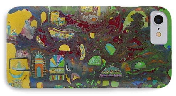 Sunrise City Phone Case by Hira Bosh