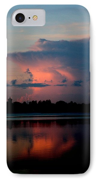 Sunrise Cloud Reflection IPhone Case by Diane Merkle