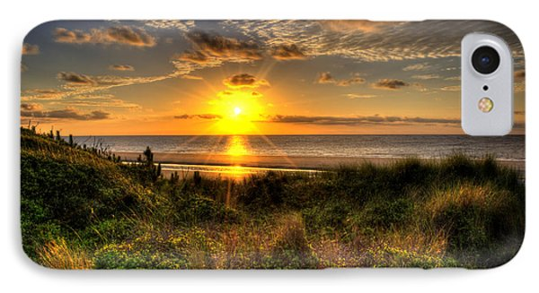 Sunrise Dune Phone Case by Greg and Chrystal Mimbs