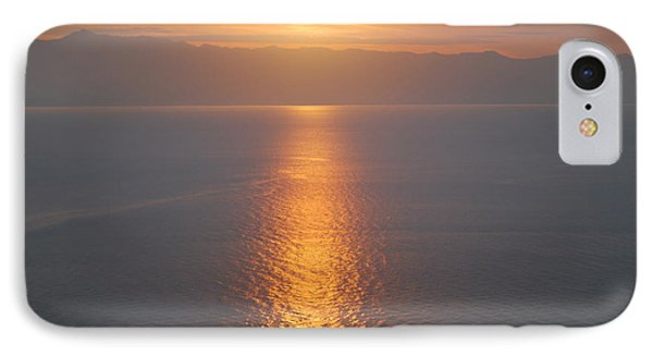 Sunrise Erikousa 1 IPhone Case by George Katechis