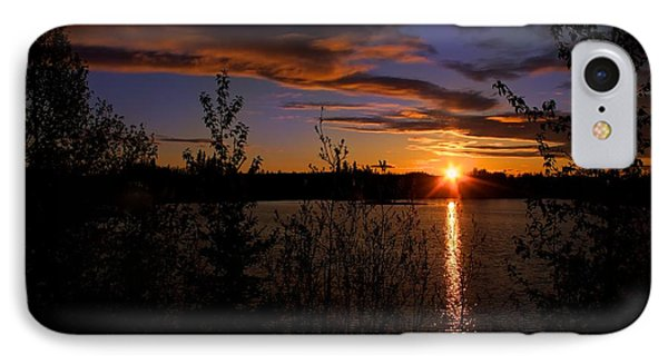 IPhone Case featuring the photograph Sunrise Fairbanks Alaska by Michael Rogers