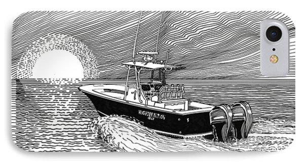 Sunrise Fishing Phone Case by Jack Pumphrey