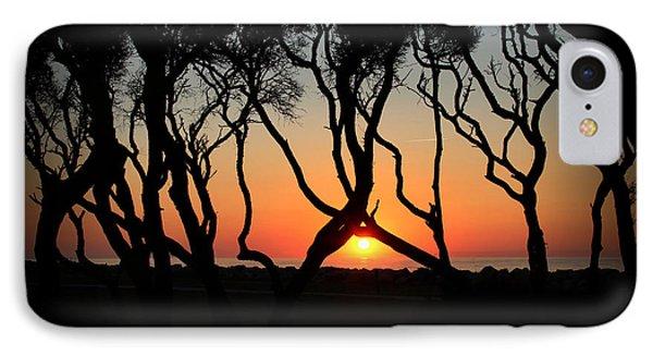 Sunrise Fort Fisher IPhone Case