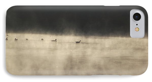 Sunrise Geese IPhone Case by Melissa Petrey