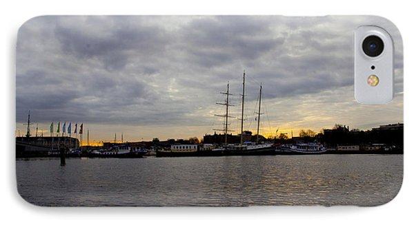 Sunrise In Amsterdam Phone Case by Pravine Chester