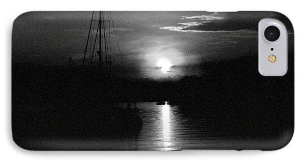 Sunrise In Bw IPhone Case