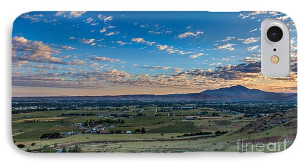 Sunrise In Emmett Valley IPhone Case by Robert Bales