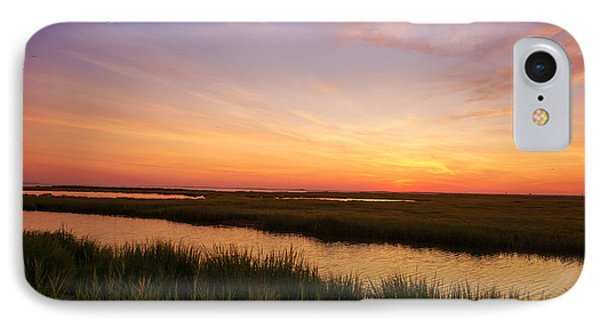 Sunrise In Jersey 4 IPhone Case by Rima Biswas