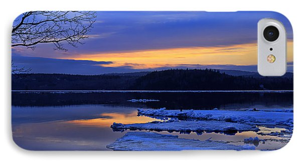 Sunrise In New Brunswick IPhone Case by Ken Morris