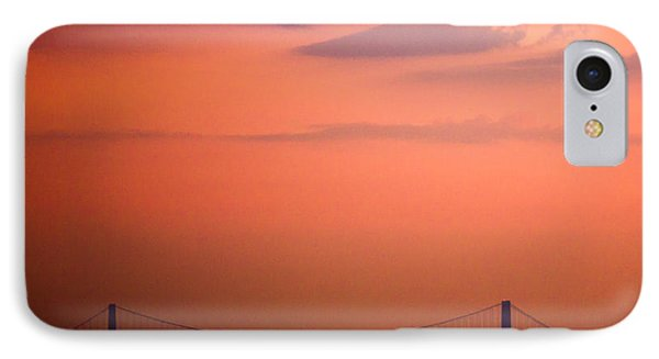 Sunrise In New York IPhone Case by Sara Frank