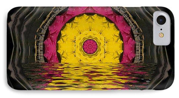Sunrise In Paradise Pop Art Phone Case by Pepita Selles