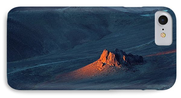 Sunrise In Saharan Mountains IPhone Case