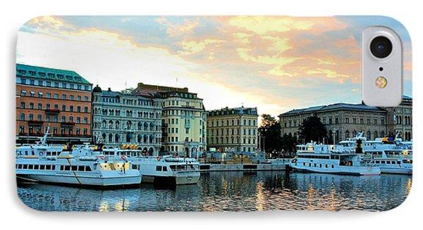 Sunrise In Stockholm Phone Case by Jenny Hudson