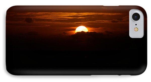 Sunrise In The Clouds IPhone Case