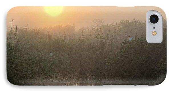 Sunrise In The Everglades Phone Case by Rudy Umans
