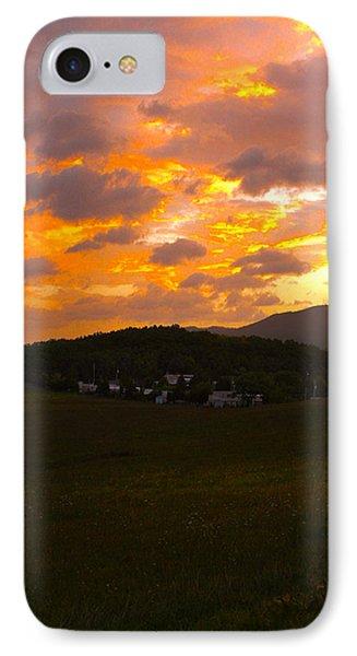 Sunrise In The Smokies IPhone Case by Jeff Kurtz