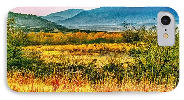 Sunrise In Verde Valley Arizona Phone Case by Bob and Nadine Johnston