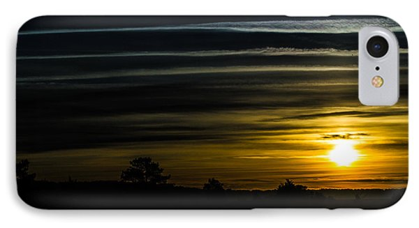 IPhone Case featuring the photograph Sunrise In Virginia by Angela DeFrias