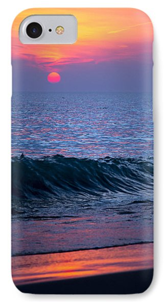 Sunrise Lake Michigan October 5th 001 IPhone Case by Michael  Bennett