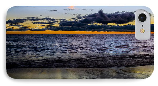 IPhone Case featuring the photograph Sunrise Lake Michigan September 14th 2013 003 by Michael  Bennett