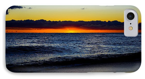 IPhone Case featuring the photograph Sunrise Lake Michigan September 14th 2013 008 by Michael  Bennett