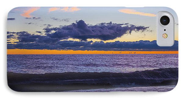IPhone Case featuring the photograph Sunrise Lake Michigan September 14th 2013 011 by Michael  Bennett