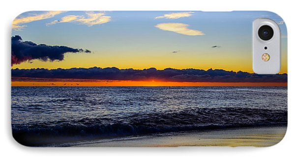 IPhone Case featuring the photograph Sunrise Lake Michigan September 14th 2013 012 by Michael  Bennett