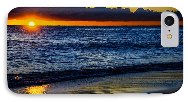 IPhone Case featuring the photograph Sunrise Lake Michigan September 14th 2013 015 by Michael  Bennett