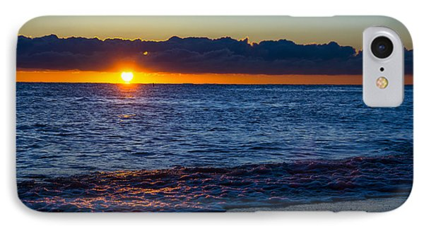 IPhone Case featuring the photograph Sunrise Lake Michigan September 14th 2013 016 by Michael  Bennett
