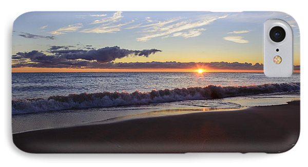 IPhone Case featuring the photograph Sunrise Lake Michigan September 14th 2013 018 by Michael  Bennett