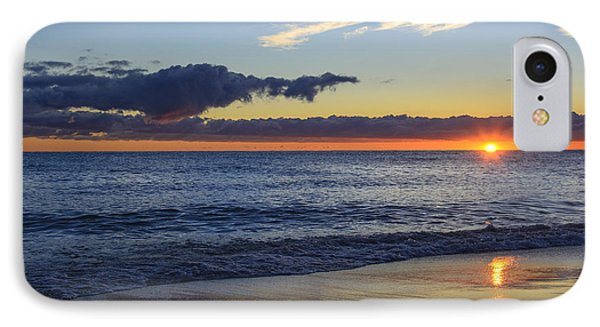 IPhone Case featuring the photograph Sunrise Lake Michigan September 14th 2013 019 by Michael  Bennett