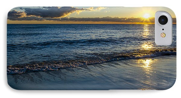 IPhone Case featuring the photograph Sunrise Lake Michigan September 14th 2013 023 by Michael  Bennett