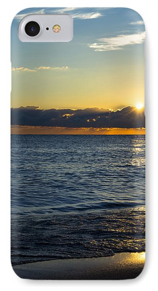 IPhone Case featuring the photograph Sunrise Lake Michigan September 14th 2013 025 by Michael  Bennett