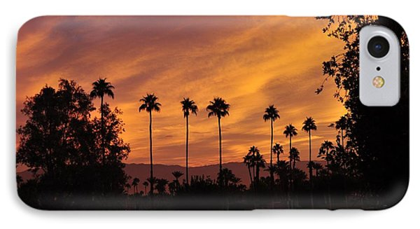 Sunrise Looking East Towards Mecca IPhone Case by Jay Milo