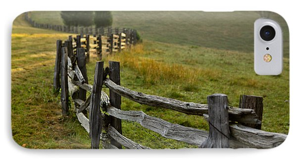 Sunrise Meadow - Blue Ridge Parkway I Phone Case by Dan Carmichael