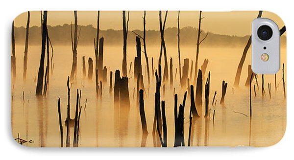 Sunrise Mist IPhone Case by Roger Becker