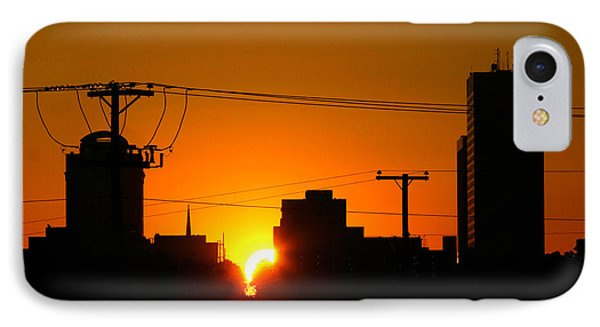 Sunrise -- My Columbia Seen IPhone Case