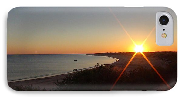 IPhone Case featuring the photograph Sunrise Near Broome  Australia by Tony Mathews