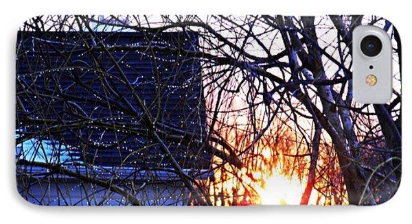 Sunrise Next Door Phone Case by Sarah Loft