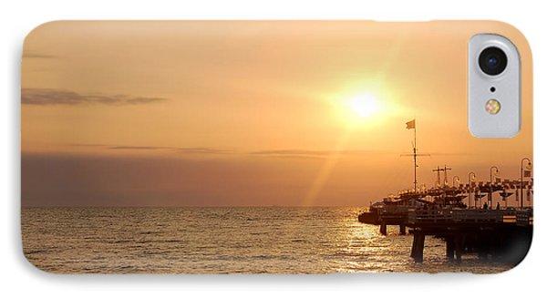 Sunrise Ocean Phone Case by Michal Bednarek