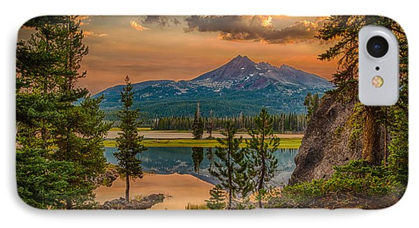Sunrise On Brokentop IPhone Case by Chris McKenna