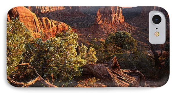 Sunrise On Indepedence IPhone Case by Ray Mathis