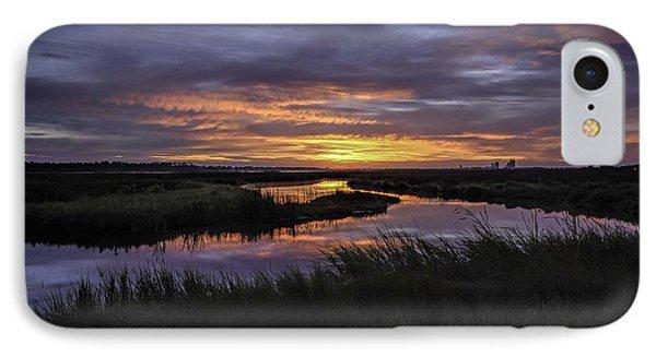 Sunrise On Lake Shelby Phone Case by Michael Thomas