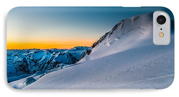 Sunrise On Mount Garibaldi Phone Case by Ian Stotesbury
