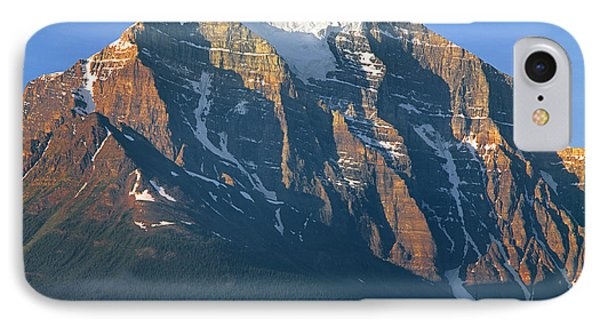 1m3518-sunrise On Mt. Temple IPhone Case