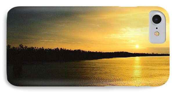 IPhone Case featuring the photograph Sunrise On Ole Man River by Michael Hoard